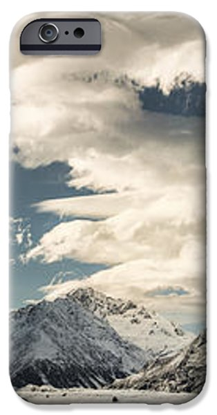 Hooker River In The Valley At Tasman iPhone Case by Colin Monteath