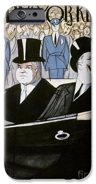 Recently Sold -  - Police iPhone Cases - Hoover & F.d. Roosevelt iPhone Case by Granger
