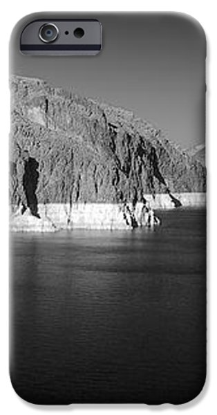 Hoover Dam Reservoir - Architecture on a grand scale iPhone Case by Christine Till