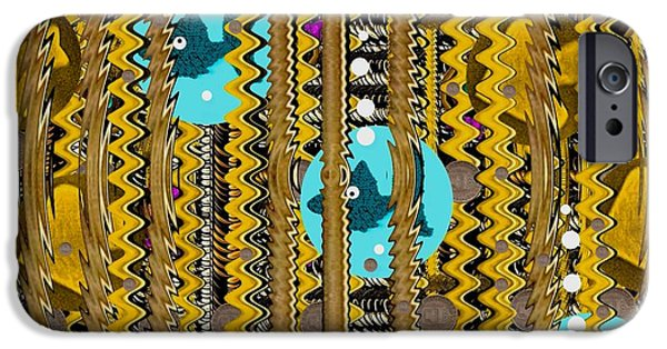 Coins Mixed Media iPhone Cases - Hope the coins will grow this year iPhone Case by Pepita Selles