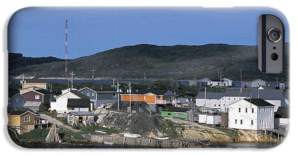 Hopedale iPhone Cases - Hopedale, Newfoundland & Labrador iPhone Case by Jerry Kobalenko