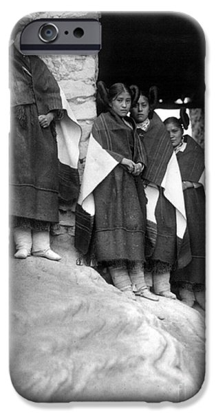 HOPI MAIDENS, 1906 iPhone Case by Granger