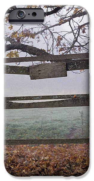 Horse at Fence iPhone Case by Jim Corwin and Photo Researchers