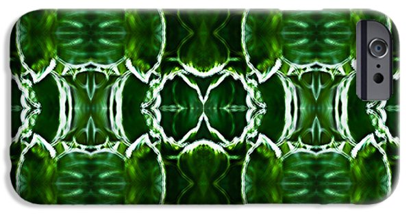 Symetry iPhone Cases - Hosta Leaves iPhone Case by  Onyonet  Photo Studios