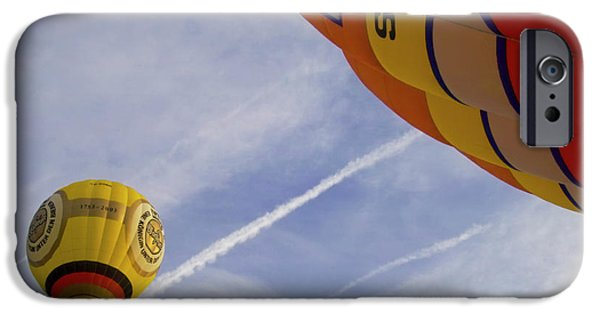 Aeronautical iPhone Cases - Hot-air Balloning iPhone Case by Heiko Koehrer-Wagner