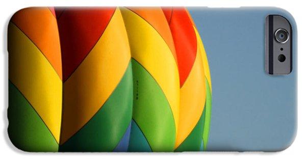 Hot Air Balloon iPhone Cases - Hot Air Balloon 3 iPhone Case by Ernie Echols