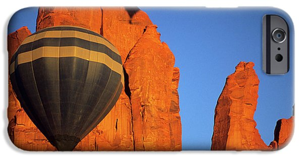 Hot Air Balloon iPhone Cases - Hot Air Balloon 7 iPhone Case by Bob Christopher