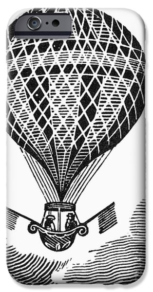 HOT AIR BALLOON iPhone Case by Granger