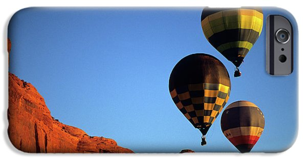 Hot Air Balloon iPhone Cases - Hot Air Balloons 5 iPhone Case by Bob Christopher