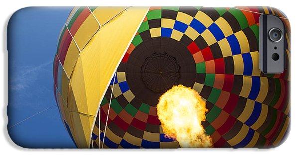 Hot Air Balloon iPhone Cases - Hot Air iPhone Case by Rick Berk