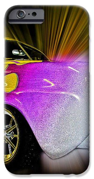 Hot Rod Art iPhone Case by Steve McKinzie