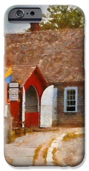 Houses - Maritime Village  iPhone Case by Mike Savad
