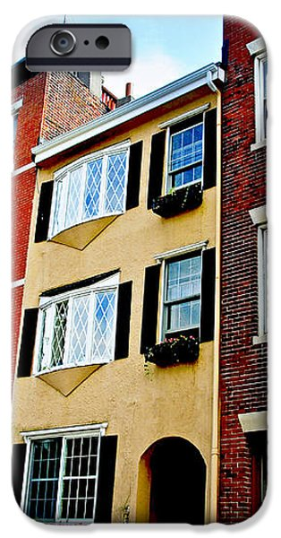 Houses in Boston iPhone Case by Elena Elisseeva