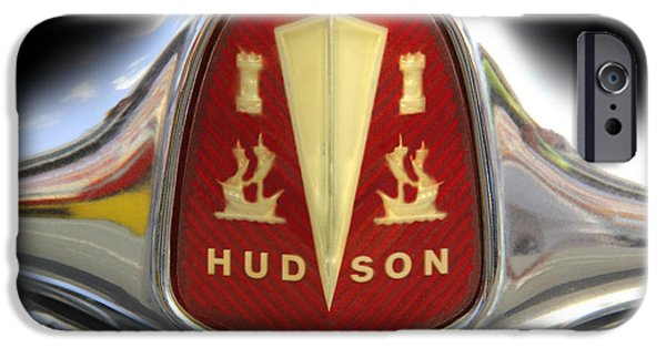 Hudson iPhone Cases - Hudson Grill Ornament  iPhone Case by Mike McGlothlen