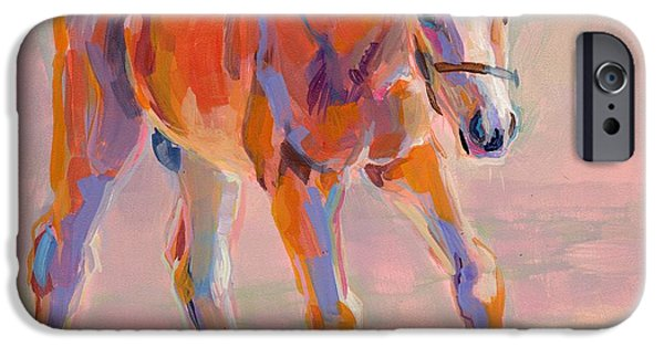 Racing iPhone Cases - Hugo iPhone Case by Kimberly Santini