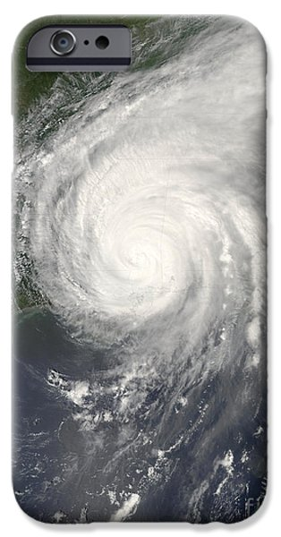 21st Century iPhone Cases - Hurricane Katrina iPhone Case by NASA / Science Source
