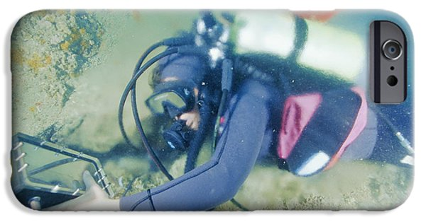 Wet Suit iPhone Cases - Hydrogeologist iPhone Case by Alexis Rosenfeld