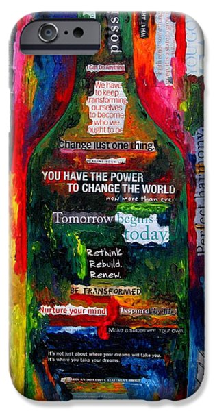 I am Inspired iPhone Case by Patti Schermerhorn