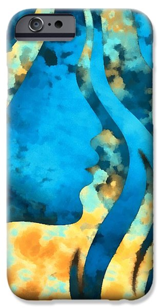 I Should Have Said Goodbye 2 iPhone Case by Angelina Vick