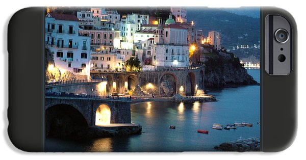 Personal-development iPhone Cases - I Travel The World Amalfi iPhone Case by Donna Corless
