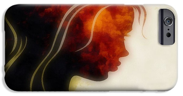 Inner Self iPhone Cases - I Walked Away 1 iPhone Case by Angelina Vick