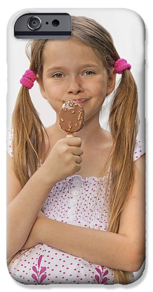 Ice cream iPhone Case by Joana Kruse