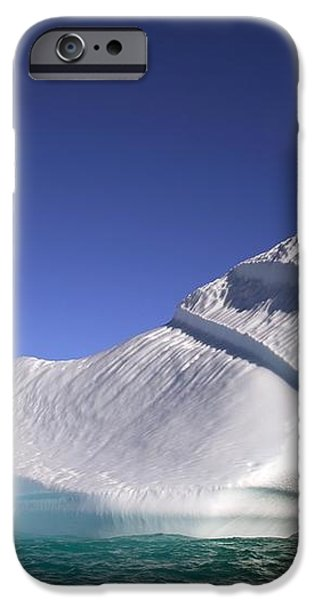 Iceberg In The Canadian Arctic iPhone Case by Richard Wear