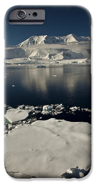 Icefloe In The Neumayer Channel iPhone Case by Colin Monteath