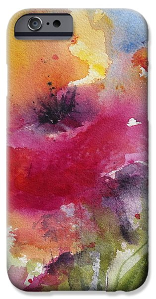 Iceland Poppy iPhone Case by Anne Duke