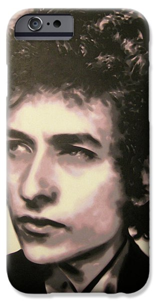 Counterculture iPhone Cases - Id let you be in my dreams if I can be in yours I said that iPhone Case by Luis Ludzska