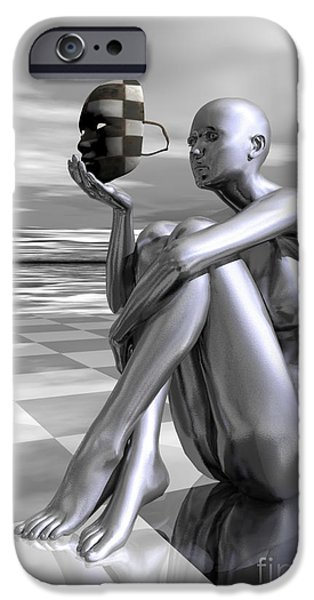 Ego iPhone Cases - Identity iPhone Case by Sandra Bauser Digital Art