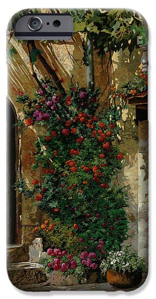 il giardino francese iPhone Case by Guido Borelli