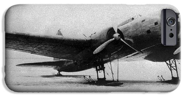 World War One iPhone Cases - Ilyushin Db-3, Soviet Ww2 Bomber iPhone Case by Ria Novosti