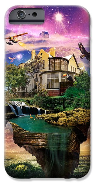Imagination Home iPhone Case by Kenal Louis