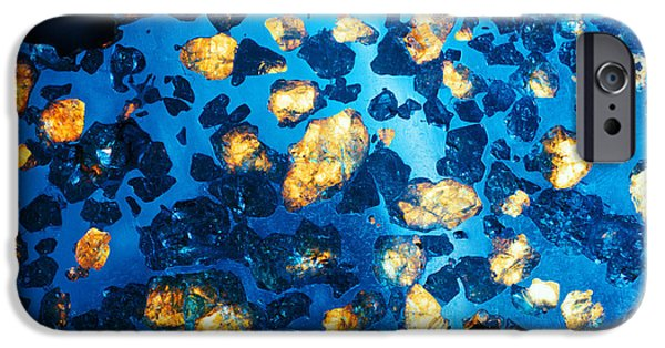 Nineteenth iPhone Cases - Imilac Meteorite Sample iPhone Case by Detlev Van Ravenswaay