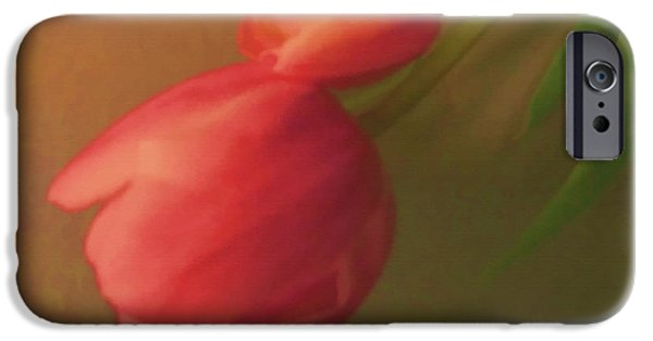 Timeless Design Paintings iPhone Cases - Impact Of Spring iPhone Case by Debra     Vatalaro