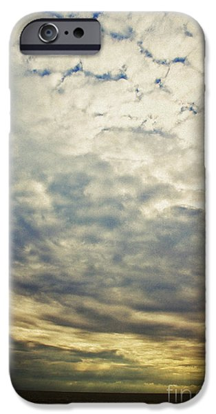 Clouds iPhone Cases - Impression clouds iPhone Case by Angela Doelling AD DESIGN Photo and PhotoArt