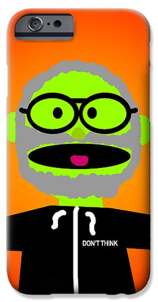 Improv Puppet iPhone Case by Jera Sky