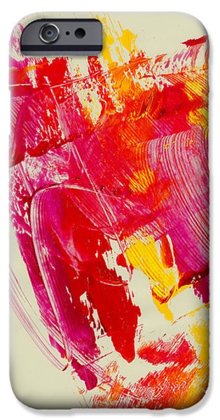 Swiss Mixed Media iPhone Cases - In A Hurry   iPhone Case by Manuel Sueess