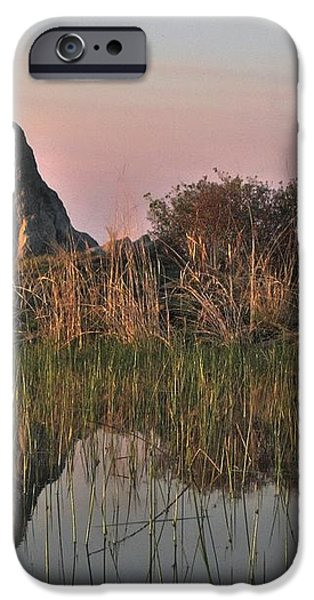 In a Mirror iPhone Case by William Fields