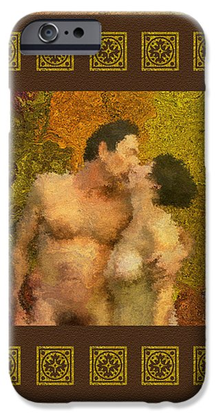 In Love iPhone Case by Kurt Van Wagner