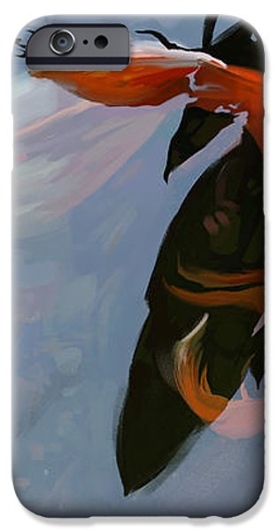 In the Shadows iPhone Case by Steve Goad
