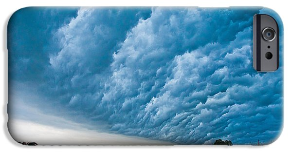 Nebraska iPhone Cases - In The Whales Mouth iPhone Case by Chris  Allington