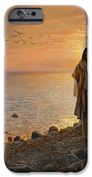 In the World Not of the World iPhone Case by Greg Olsen