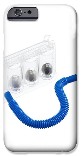 Incentive Spirometer iPhone Case by