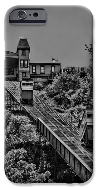 Incline BW iPhone Case by Arthur Herold Jr