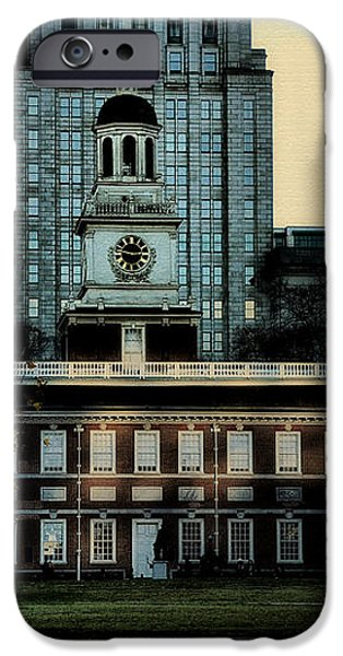Independence Hall - The Cradle of Liberty iPhone Case by Bill Cannon