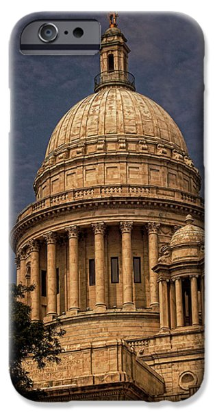 Capitol iPhone Cases - Independent Man iPhone Case by Lourry Legarde
