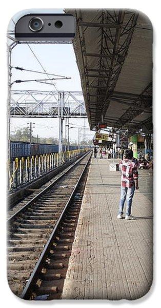 Indian railway station iPhone Case by Sumit Mehndiratta