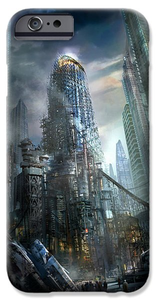 Industry iPhone Cases - Industrialize iPhone Case by Philip Straub